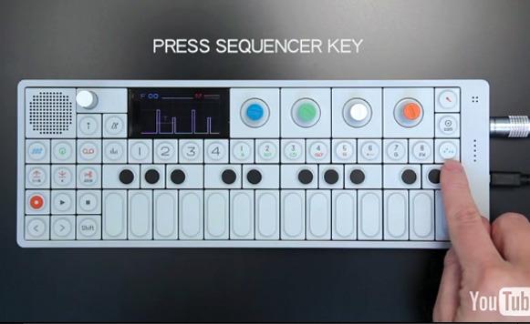 Sintetizador OP-1 (por Jonathan Muriel)