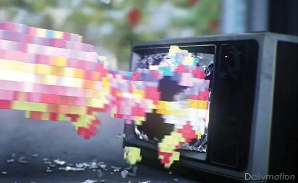 Cortometraje pixeloso