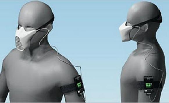 A cargar Gadgets con la energía que producimos al respirar (Por Iohanna Küppers)