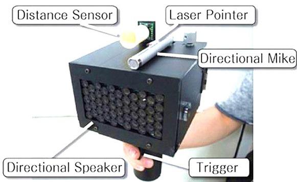 Dispositivo para hacer que la gente deje de hablar
