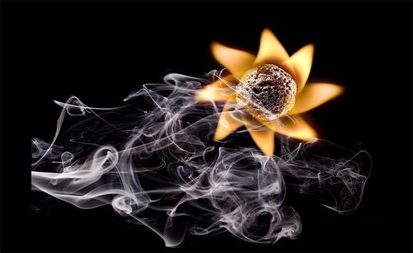 Stanislav Aristov y sus bellas criaturas de humo