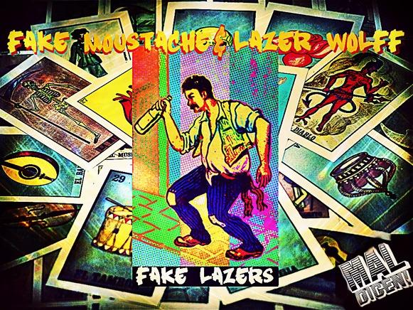 Fake Moustache-Fake Lazers