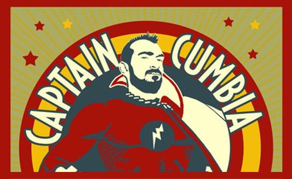 Captain Cumbia-Mashup-Man cumbiero